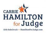 Hamilton for Judge - Logo